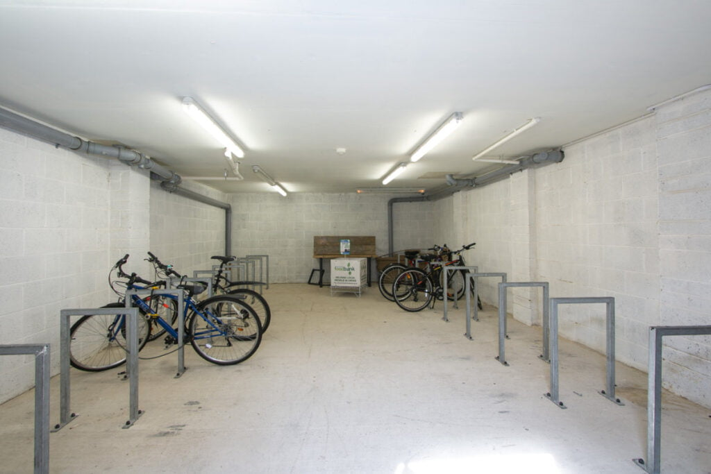 Secure cycle store